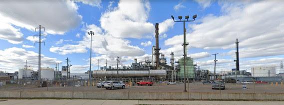 View of Marathon Refinery