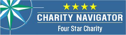 4 Star Rating from Charity Navigator