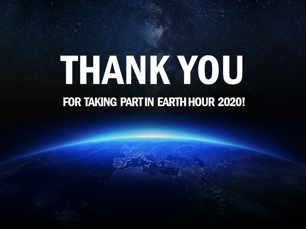 gracias hora de la tierra 2020