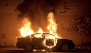 """Saudi Arabia: Two men """"opposed to women drivers"""" set fire to a woman's car"""