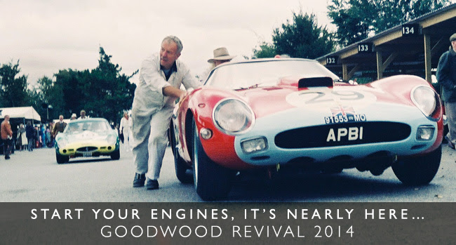 Goodwood Revival - start your engines...