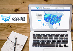 U.S. Cluster Mapping Tool