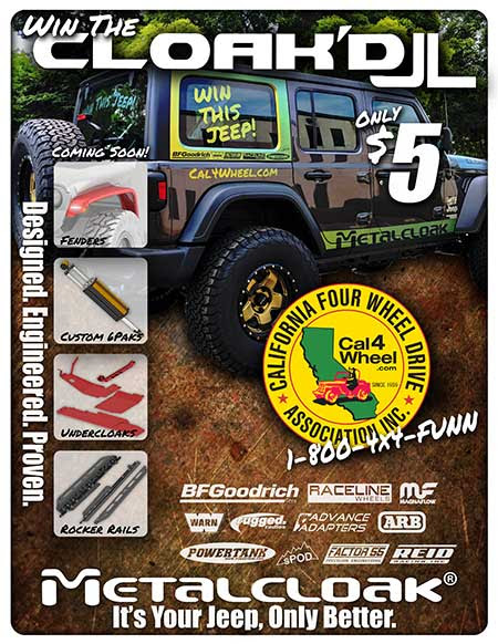 Order your tickets now for a chance to win a 2018 Jeep Wrangler JL