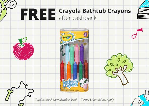 FREE Bathtub Crayons...