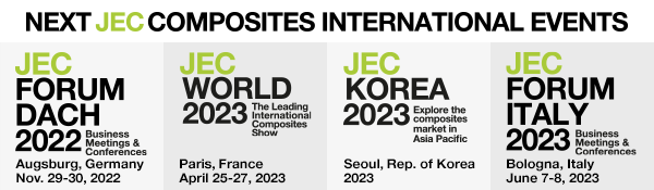 Discover the next JEC International Composites Events