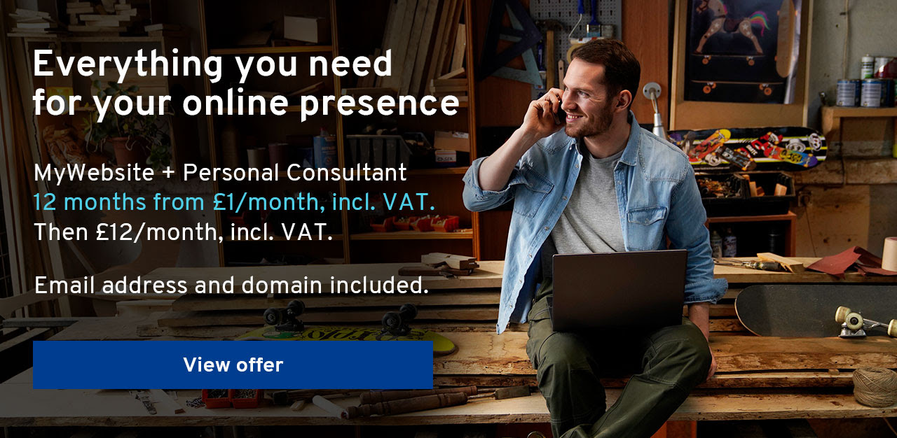 Everything you need for your online presence