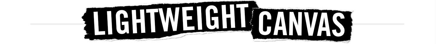 LIGHTWEIGHT CANVAS