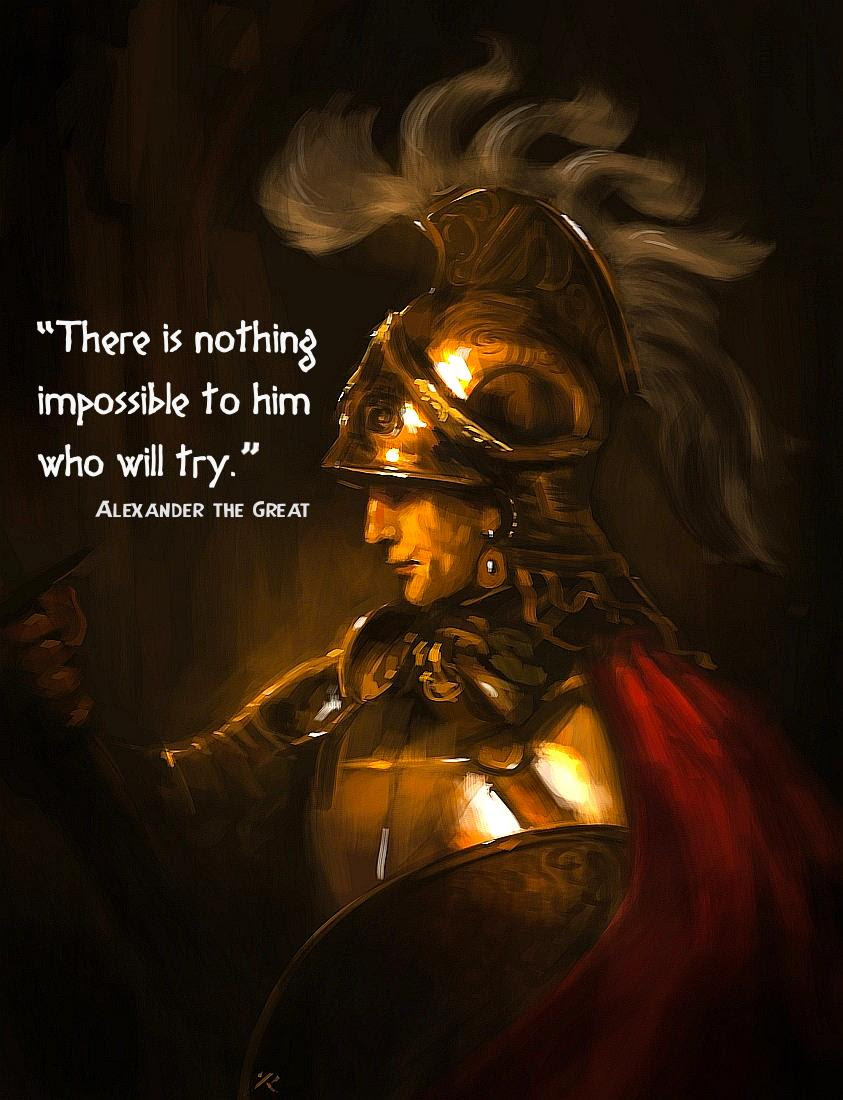 what was so great about alexander the Alexander the great created the largest political empire in the ancient world he is considered a great military leader and was an inspiration to future leaders such as julius caesar and napoleon bonaparte alexander iii of macedonia was born in 356 bce to king phillip ii of macedonia and his wife.