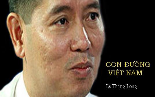"""Ông Lê Thăng Long xin ra khỏi phong trào """"Con đường Việt Nam"""" và đang xin vào Đảng Cộng sản Việt Nam. Nguồn OntheNet (Hình trước tháng 12, 2013)"""