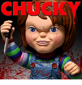GOOD GUYS CHUCKY STYLIZED ROTO FIGURE