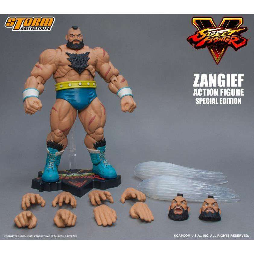Image of Street Fighter V - Zangief (Special Edition) 1/12 Scale Figure