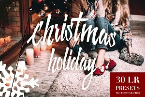 Christmas Holiday Lightroom Presets