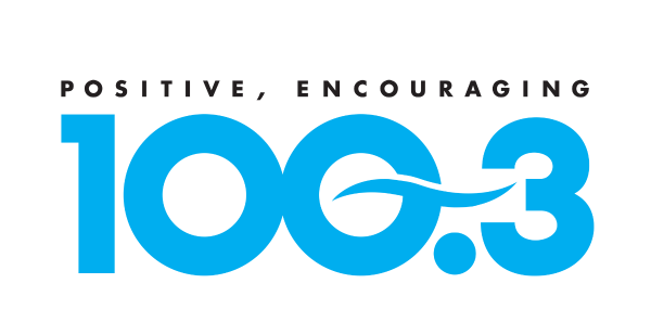 Positive Encouraging 100.3 logo