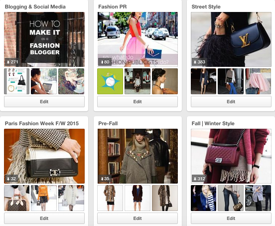 Pinterest for Fashion Bloggers