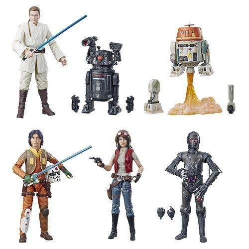 "Image of Star Wars: The Black Series 6"" Wave 21 - Set of 6"