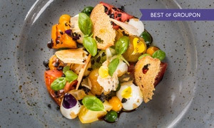 Michelin-Starred Vegetarian Menu
