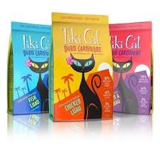 Buy 3 Get 1 Free Tiki Cat cat foods