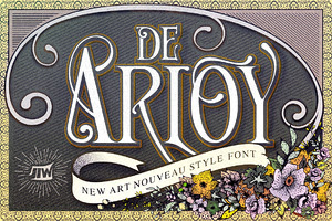 De Arloy  Typeface