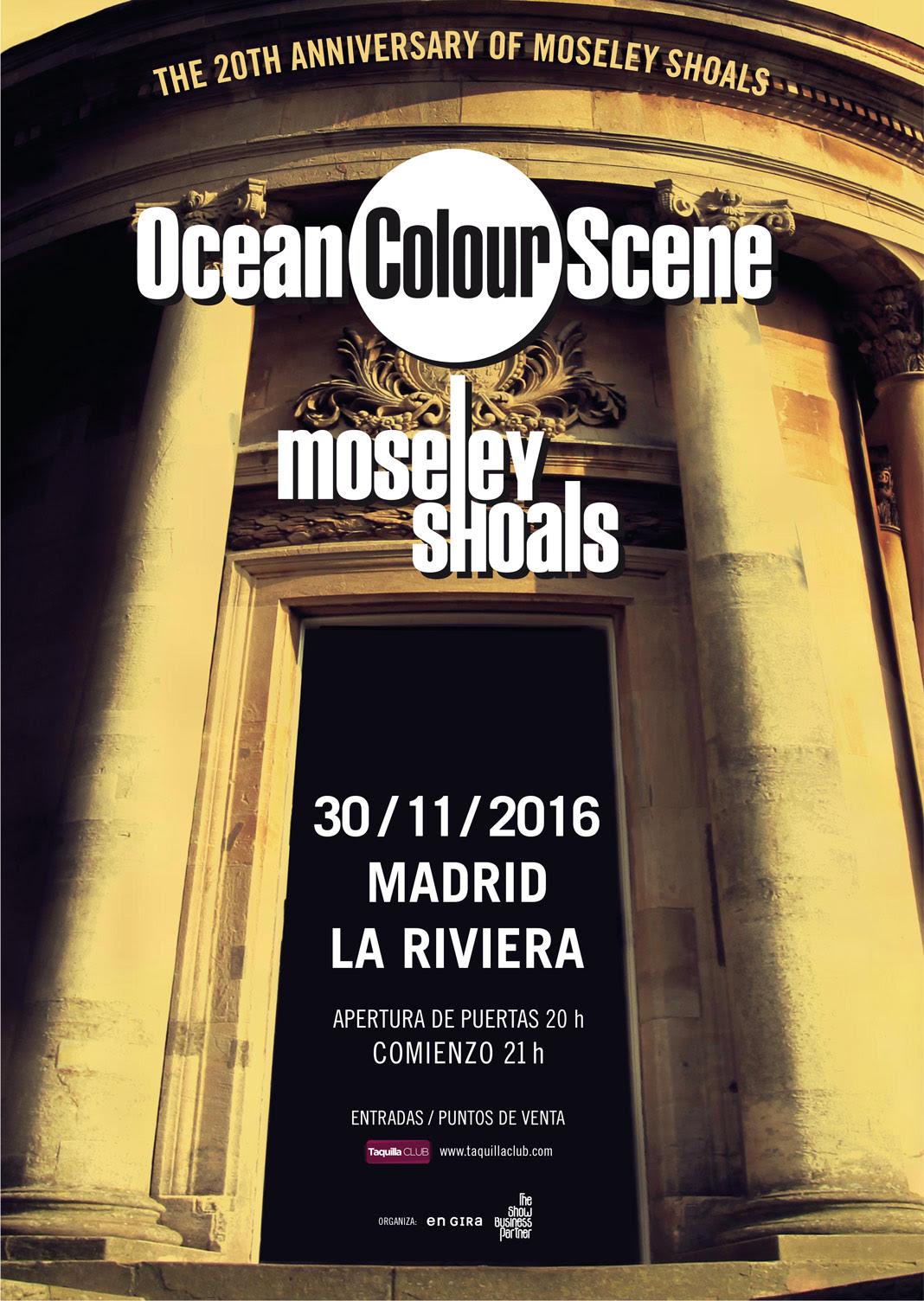 Concierto de Ocean Color Scene en La Riviera