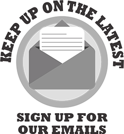 Keep up on the latest - sign up for our emails