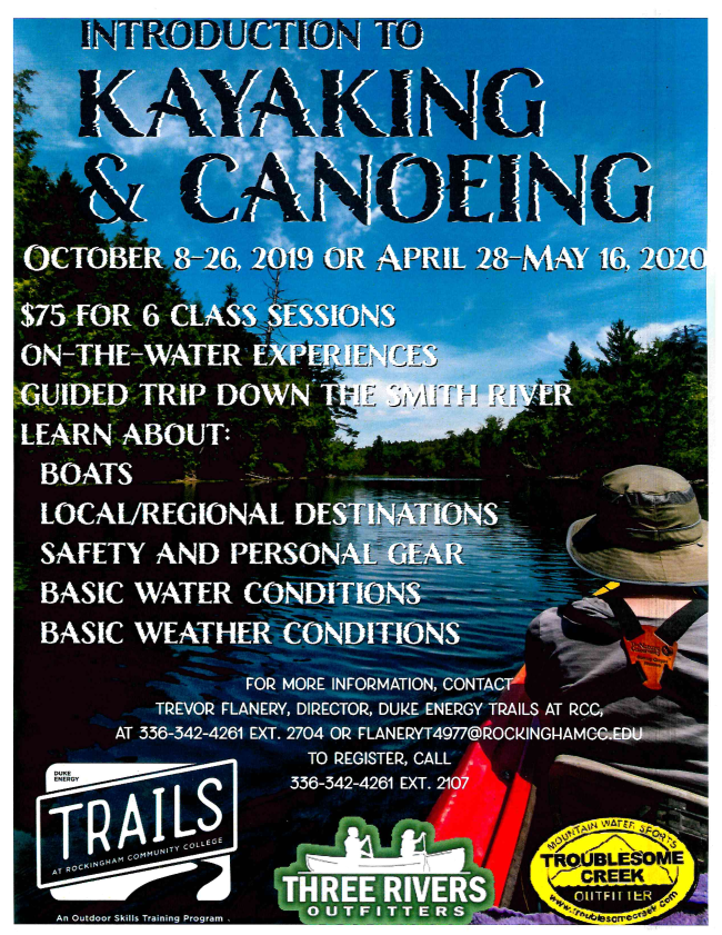 Introduction to Kayaking & Canoeing