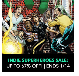 Indie Superheroes Sale: up to 67% off! Sale ends 1/14.