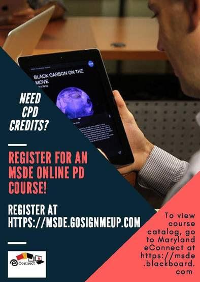 Online Courses Flyer
