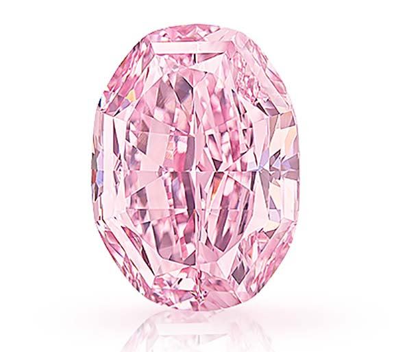 14.83-Carat Pink Diamond; 'The Spirit of the Rose'; Could Be a ...