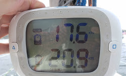 J/105 Arbitrage speed 20.9 kts