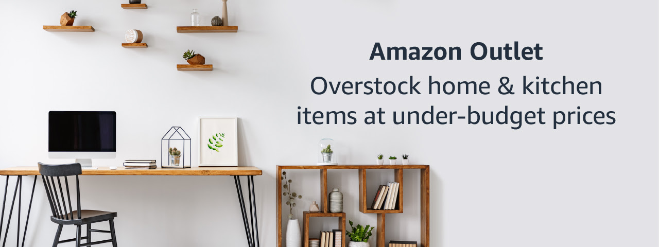 Amazon Outlet - Overstock home and kitchen at under-budget prices