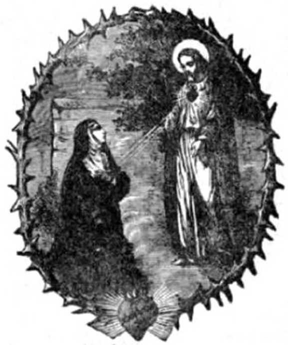 A nap Szentje ALACOQUE SZENT MARGIT-MÁRIA