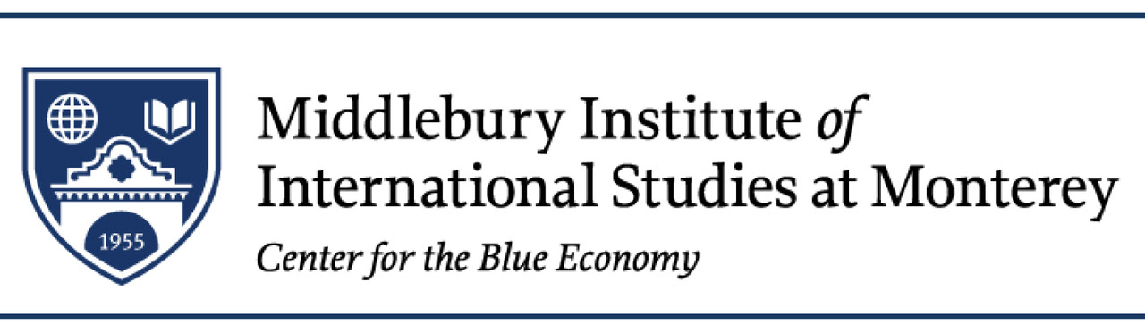 Center for the Blue Economy at the Middlebury Institute of International Studies at Monterey Logo