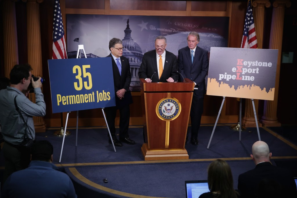 Senate Democrats Push For Amendments To Keystone XL Pipeline Legislation