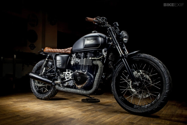 Bonneville T100 by Maccomotors