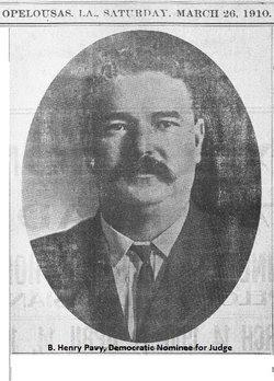 Judge Benjamin Henry Pavy