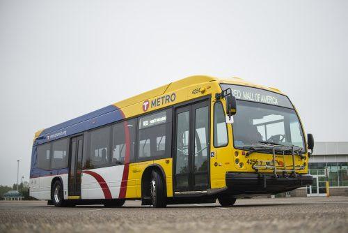 Metro Red Line Bus