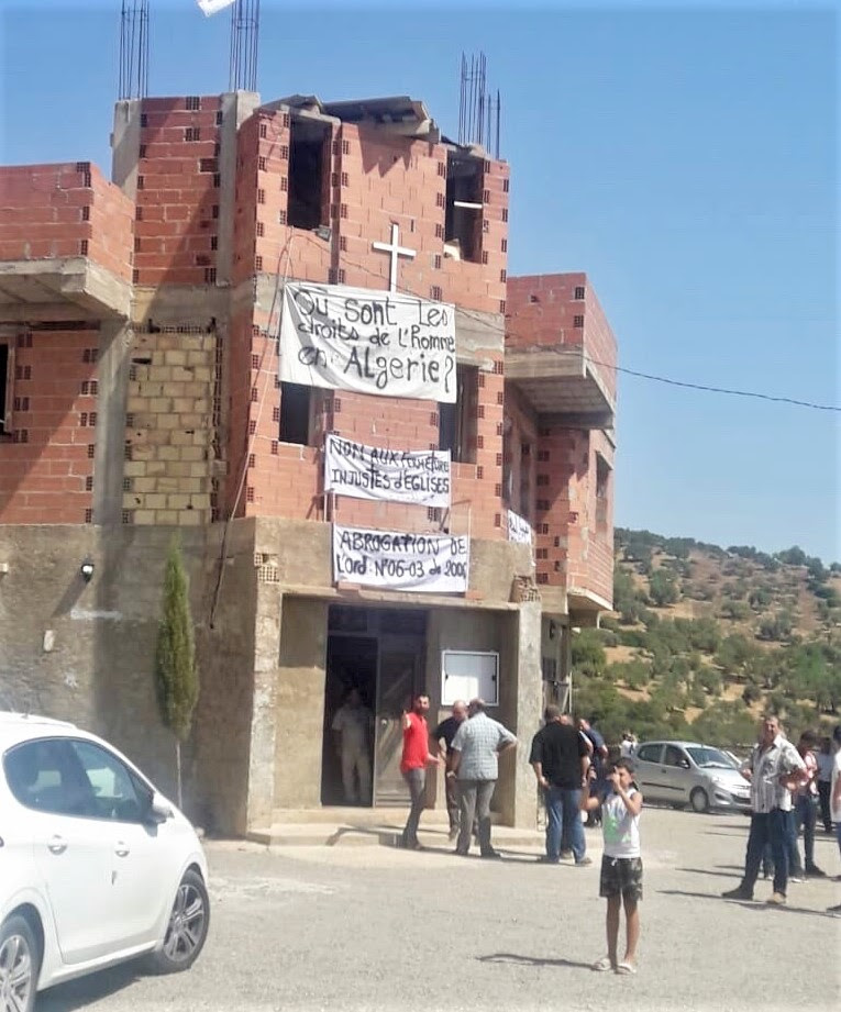 The evangelical church in Ighzer Amokrane, Algeria warded off a closure order on Monday, Aug. 26, 2019. (Morning Star News)
