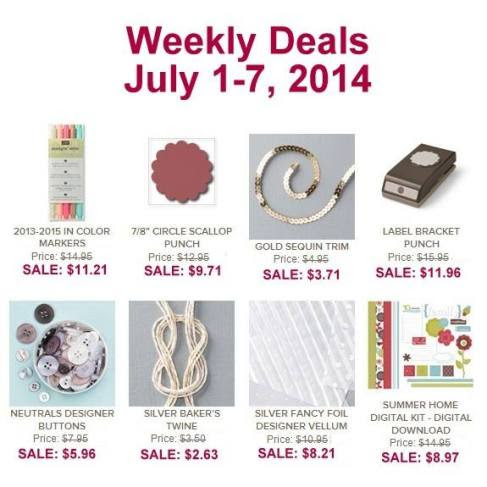 weeekly deals july 1