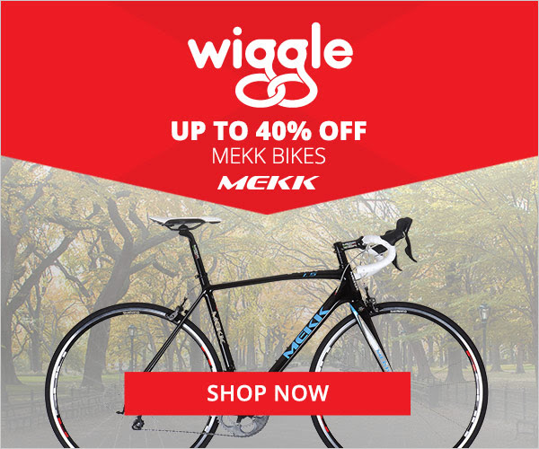 Save Up to 40% OFF Mekk Bikes at Wiggle.co.uk