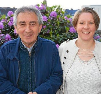 Thierry Pérennès et Aurélie Felin vont défendre les idées du NPA dans la circonscription de Guingamp.