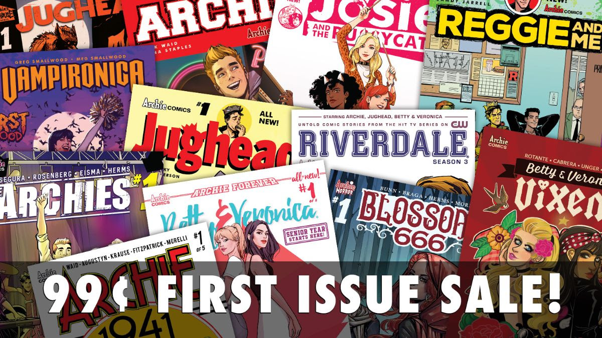 First issue sale!