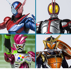 Kamen Rider S.H.Figuarts Heisei Riders Rising Project Vol. 1