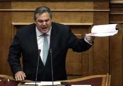 Καμμένος: Οι ελληνικές Ένοπλες Δυνάμεις απαντούν σε κάθε παραβίαση