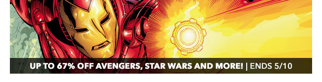 Up to 67% off Avengers, Star Wars, 1980s classics and more! | Ends 5/10