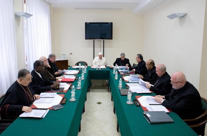Conclusiones de la nueva reunión del C-9 (Consejo de Cardenales asesores del Papa Francisco)
