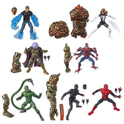 Image of Amazing Spider-Man Marvel Legends Wave 12 - Set of 7