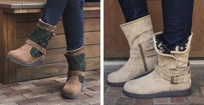 Women`s Short Muk Luk Boots +.