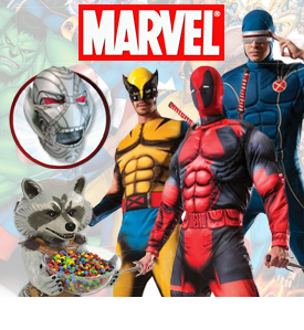 NEW RUBIES MARVEL ITEMS