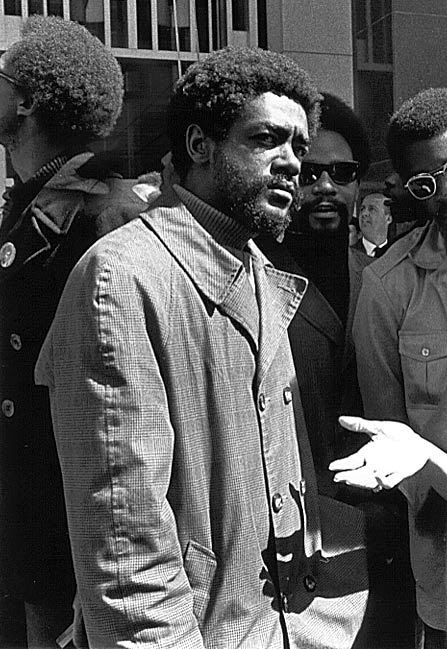 thejazzpoet:  Bobby Seale, Photo by Robert Altman, 1969