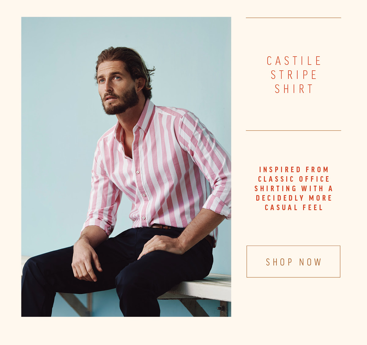 Castile Stripe Shirt